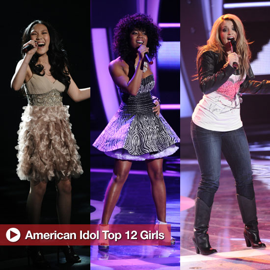 American Idol Top 12 Girls Perform