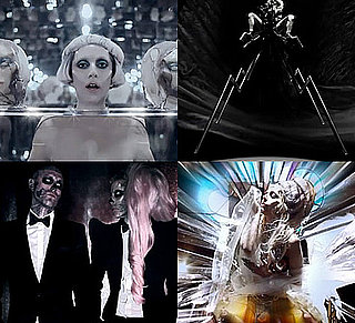 Lady Gaga's Born This Way Thierry Mugler Style, and Paris Fashion Week Show Looks
