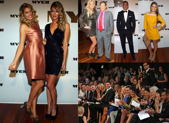 Pictures of Celebrities at 2011 Myer Autumn/Winter Fashion Launch in Melbourne