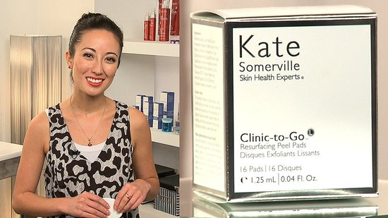 Product Review: New Kate Somerville Clinic-to-Go Resurfacing Peel Pads