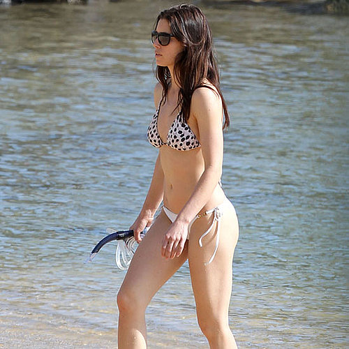 Jessica Biel went snorkeling in Hawaii, during a January 2011 getaway.