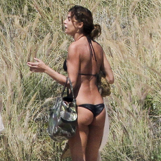 Pictures of George Clooney's Girlfriend Elisabetta Canalis in Her Bikini in Cabo