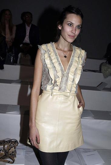 Alexa Chung at Valentino.