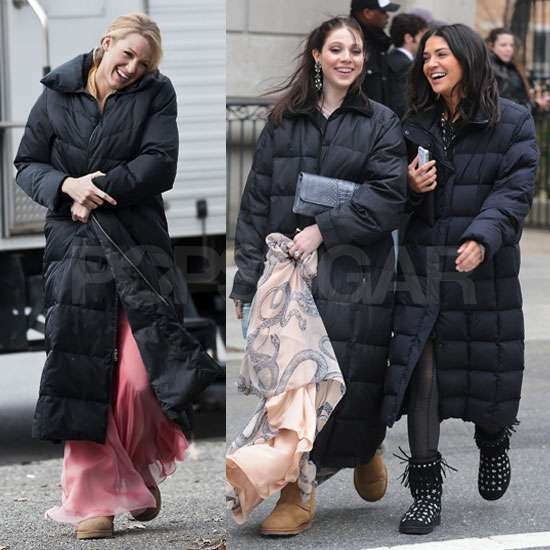 Pictures of Blake Lively, Jessica Szohr, and Michelle Trachtenberg Filming Gossip Girl Finale