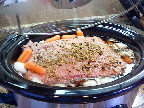 Corned Beef in a Crock Pot