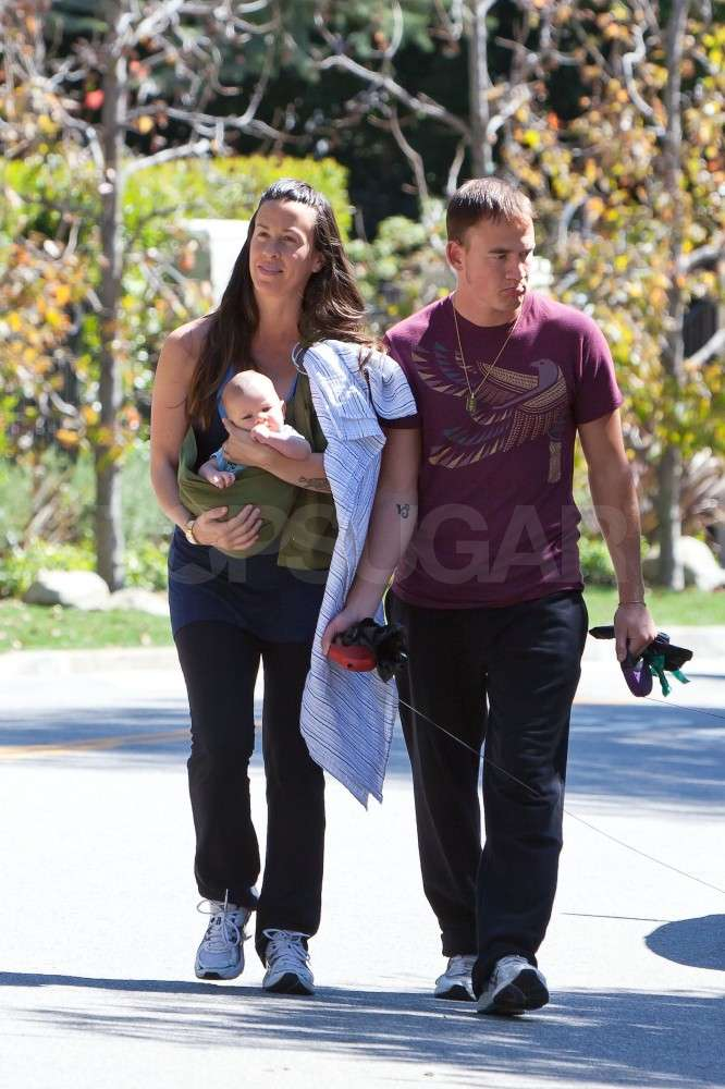 Alanis and Her Man Show Off Their Baby Love, Ever, On a Stroll