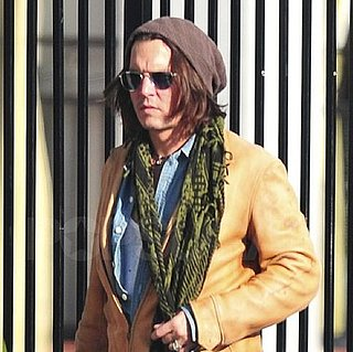 Pictures of Johnny Depp Going For a Stroll in LA