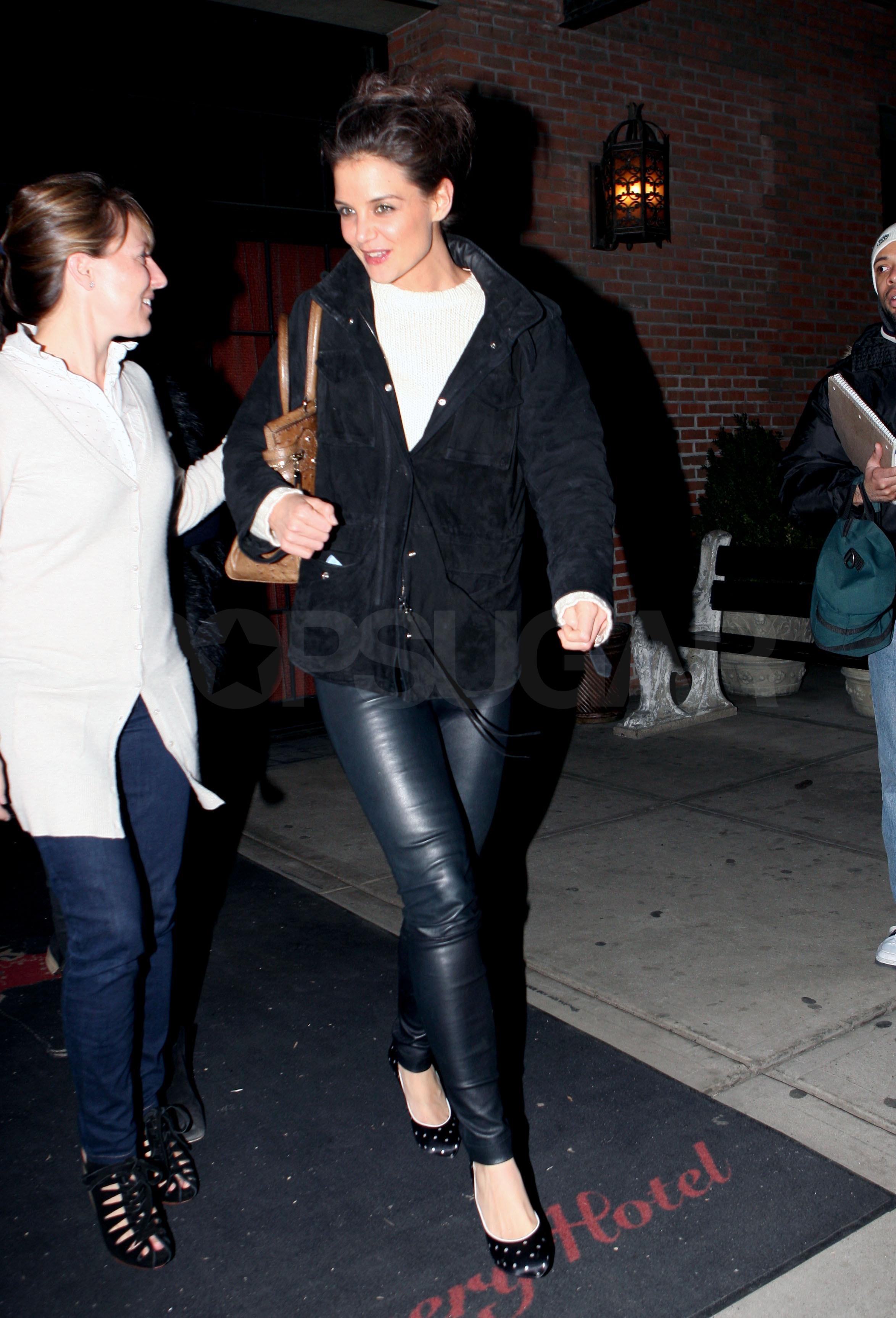 Designing Women Katie Holmes and Jeanne Yang Take Over NYC