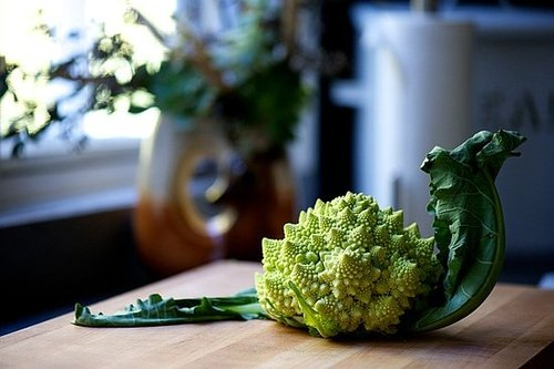 Broccoli Romanesco With Salsa Verde