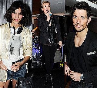 Kate Moss and Alexa Chung Party for W Hotels