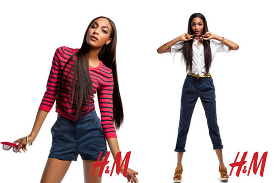 Photos of Jourdan Dunn For H&M Spring 2011 Ad Campaign 2011-03-16 18:12:10