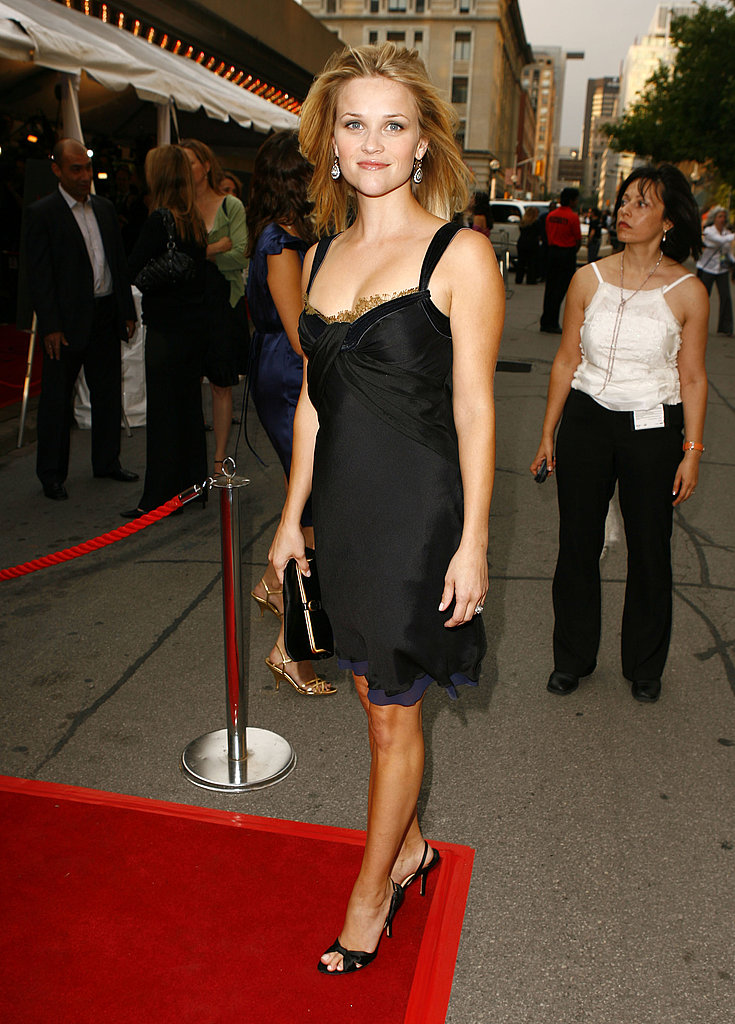 Reese wore a knee-length LBD at the Toronto premiere of Penelope in 2006.