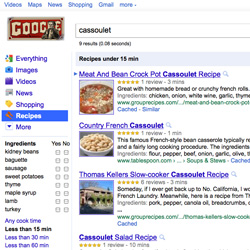 How Popular Is Google's Recipe View?