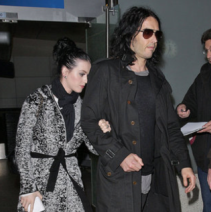 Katy Perry Loves All Things English Including Russell Brand and Royal Weddings