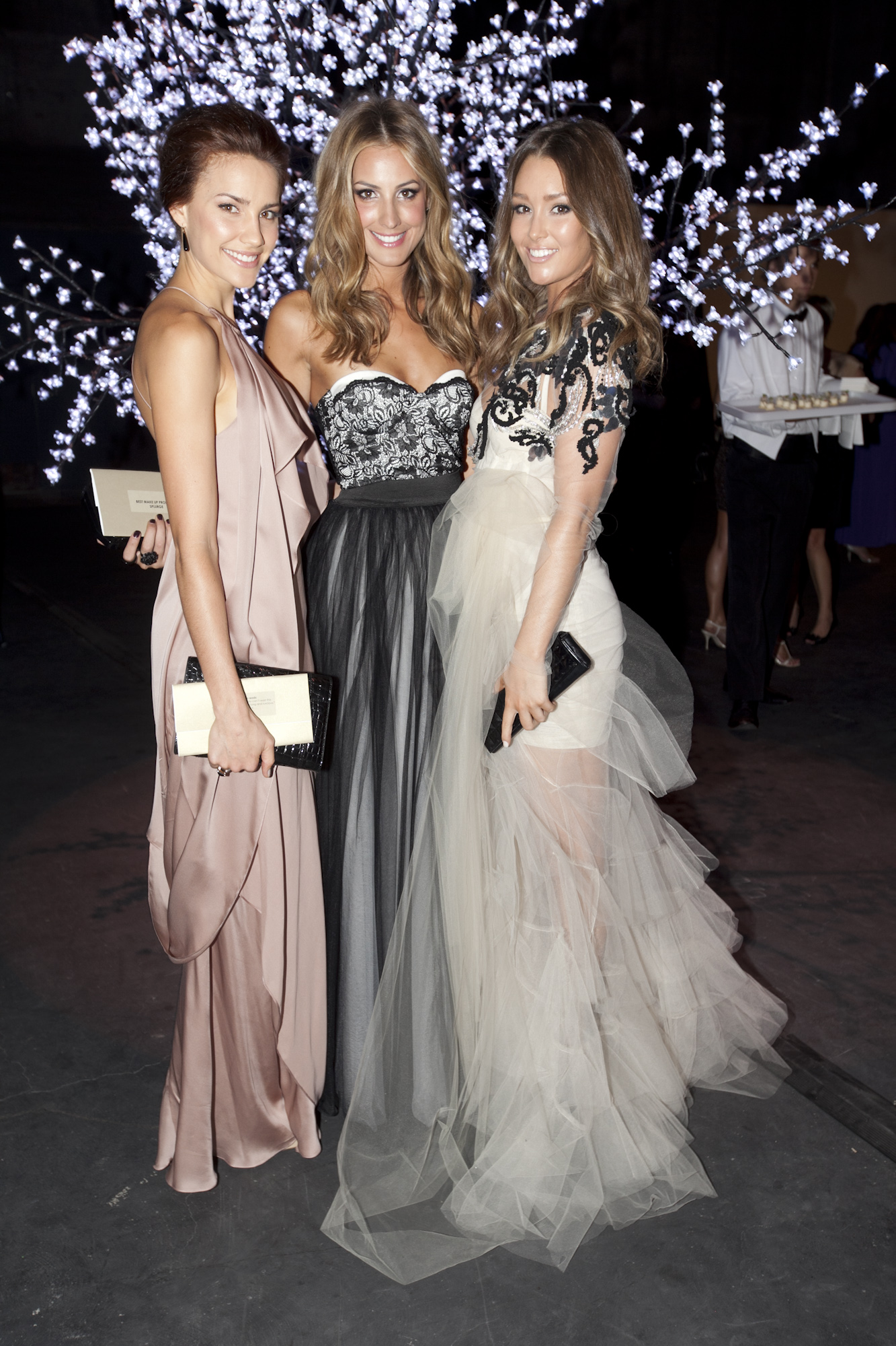 Rachael Finch, Laura Dundovic and Erin McNaught