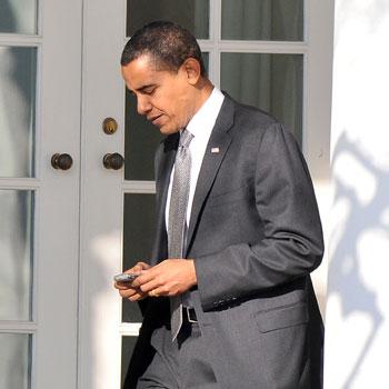 President Obama's iPad