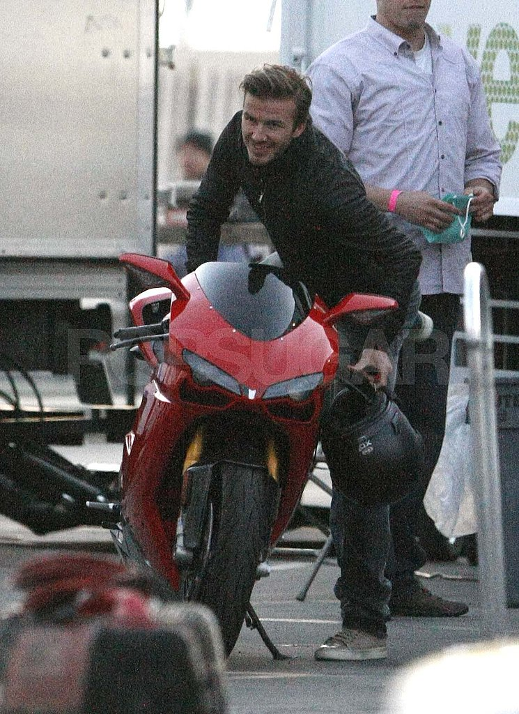 David Beckham Takes His Hotness For a Spin