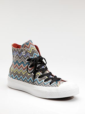 Converse Missoni High-Top Sneakers ($200)