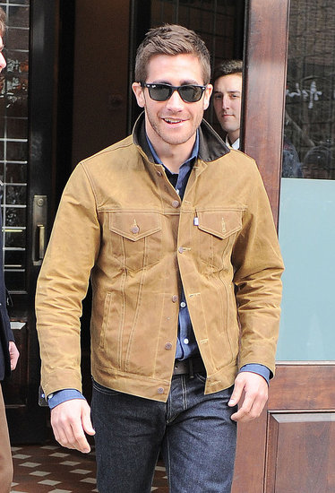 Jake Gyllenhaal Sports Shades and Preps For His Daily Start