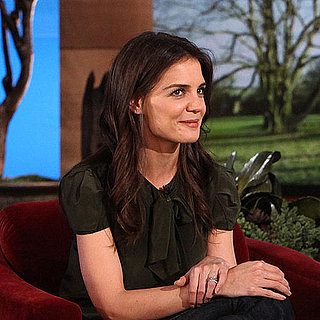 Video of Katie Holmes Talking Suri Cruise and Penis Gummies on The Ellen DeGeneres Show
