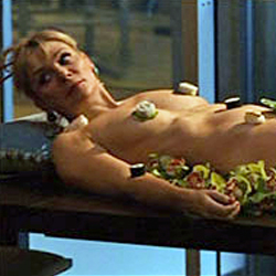 History of Naked Sushi or Nyotaimori
