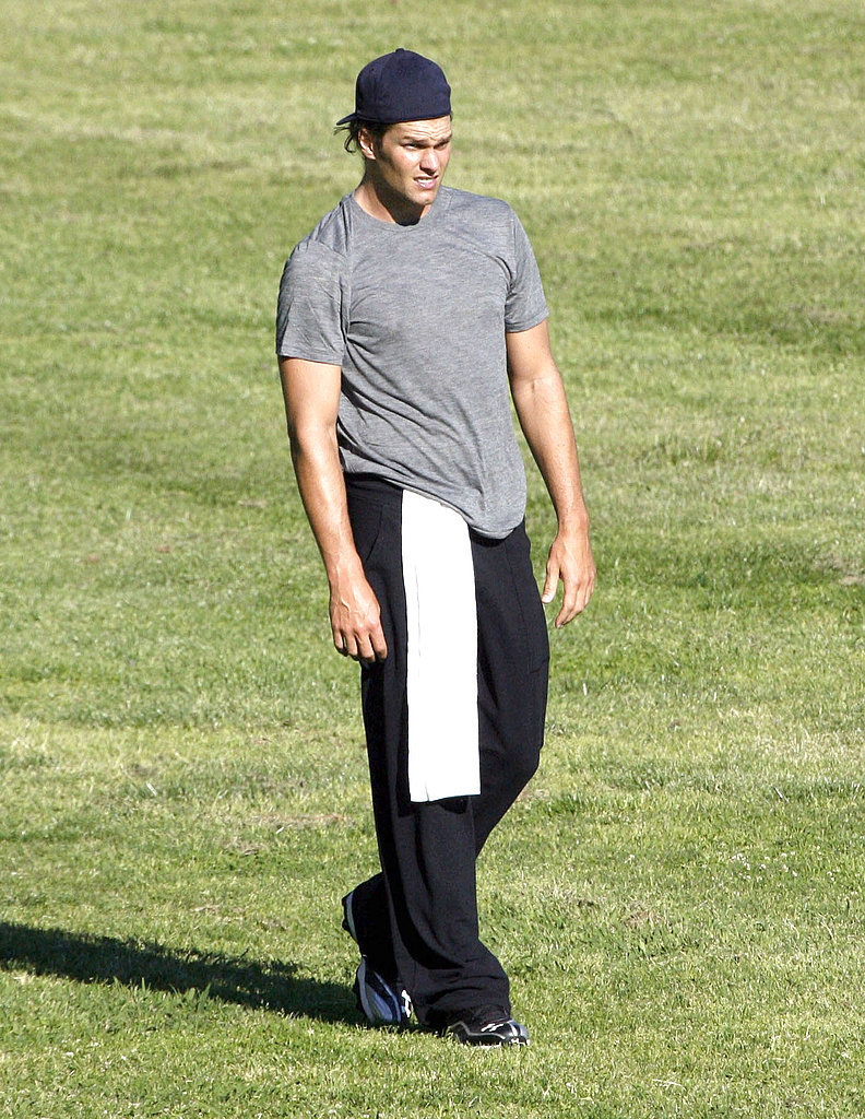 Tom Brady Looks Hot as He Works Out Through the Lockout
