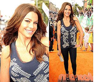 Sofia Vergara at the Kids' Choice Awards 2011