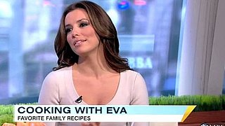 Video: Eva Longoria Talks About Divorce, Cooks on Good Morning America