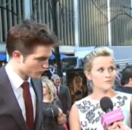 Video of Robert Pattinson and Reese Witherspoon at Water For Elephants Premiere