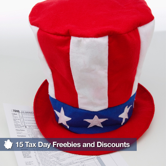 Tax Day 2011 Freebies