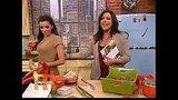Eva Longoria Cooks With Rachael Ray