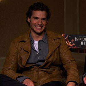 Video: Superman Henry Cavill and Luke Evans Talk About Immortals