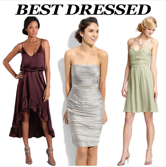 Best Bridesmaid's Dresses