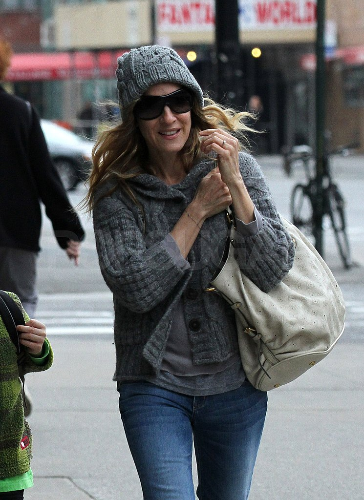 Sarah Jessica Parker and James Wilkie Keep Covered Up in Chilly NYC