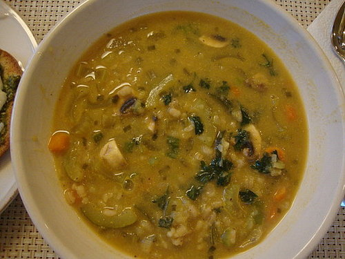 Vegetable-Barley Soup