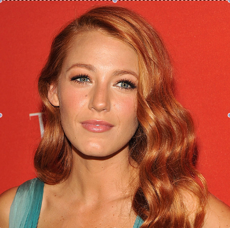 Blake Lively Dyes Her Hair Red 2011-04-26 20:50:00