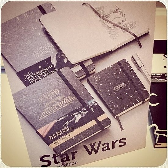 Star Wars Moleskine Notebooks