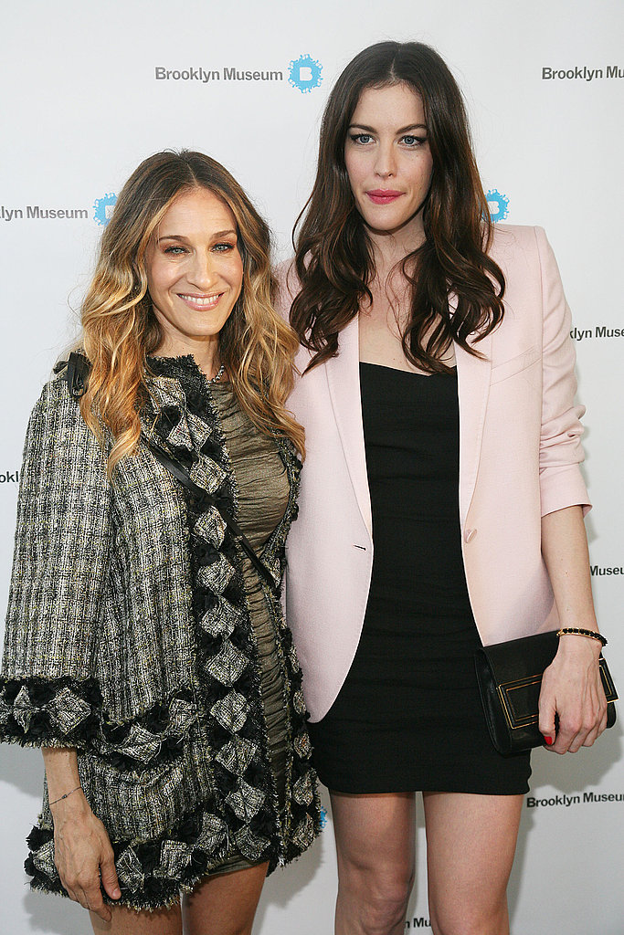 SJP Mixes Up Her Fashionable NYC Night With Liv Tyler and Matthew Broderick