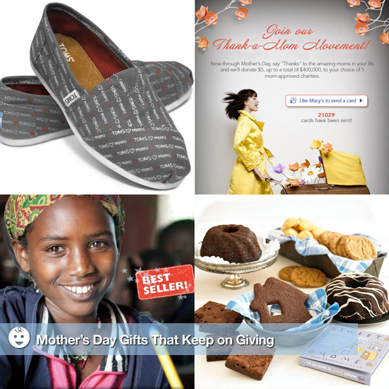 Charitable Mother's Day Gifts