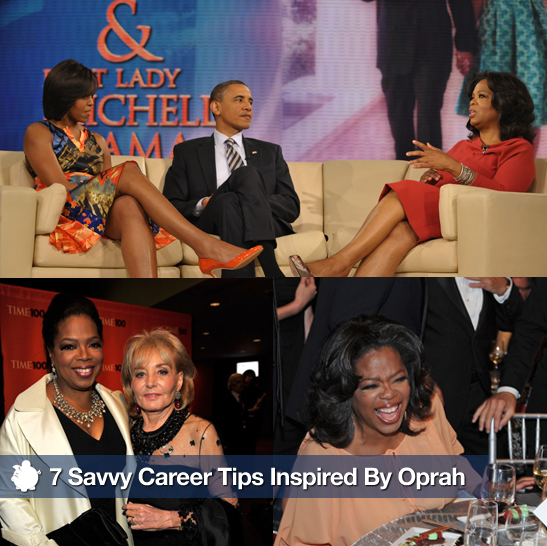 Sugar Shout Out: Helpful Career Tips Inspired by Oprah