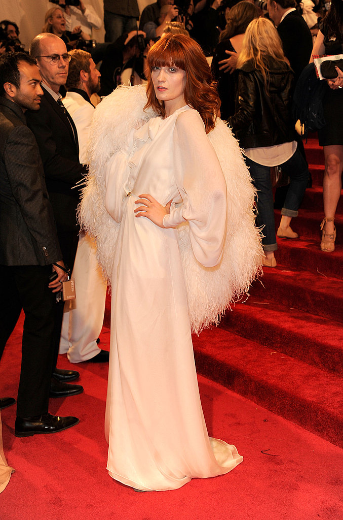 Florence Welch in Yves Saint Laurent