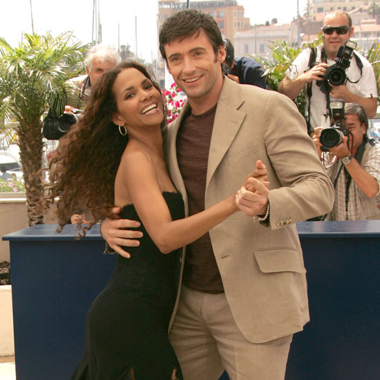 Halle Berry shared a dance with Hugh Jackma