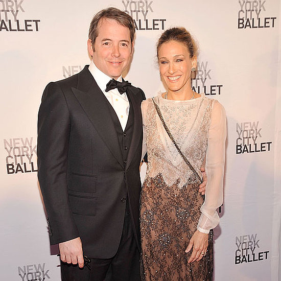 Pictures of Sarah Jessica Parker With Matthew Broderick at Ballet