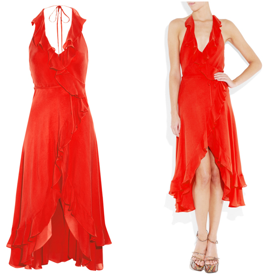 Haute Hippie's Sexiest Red Dress