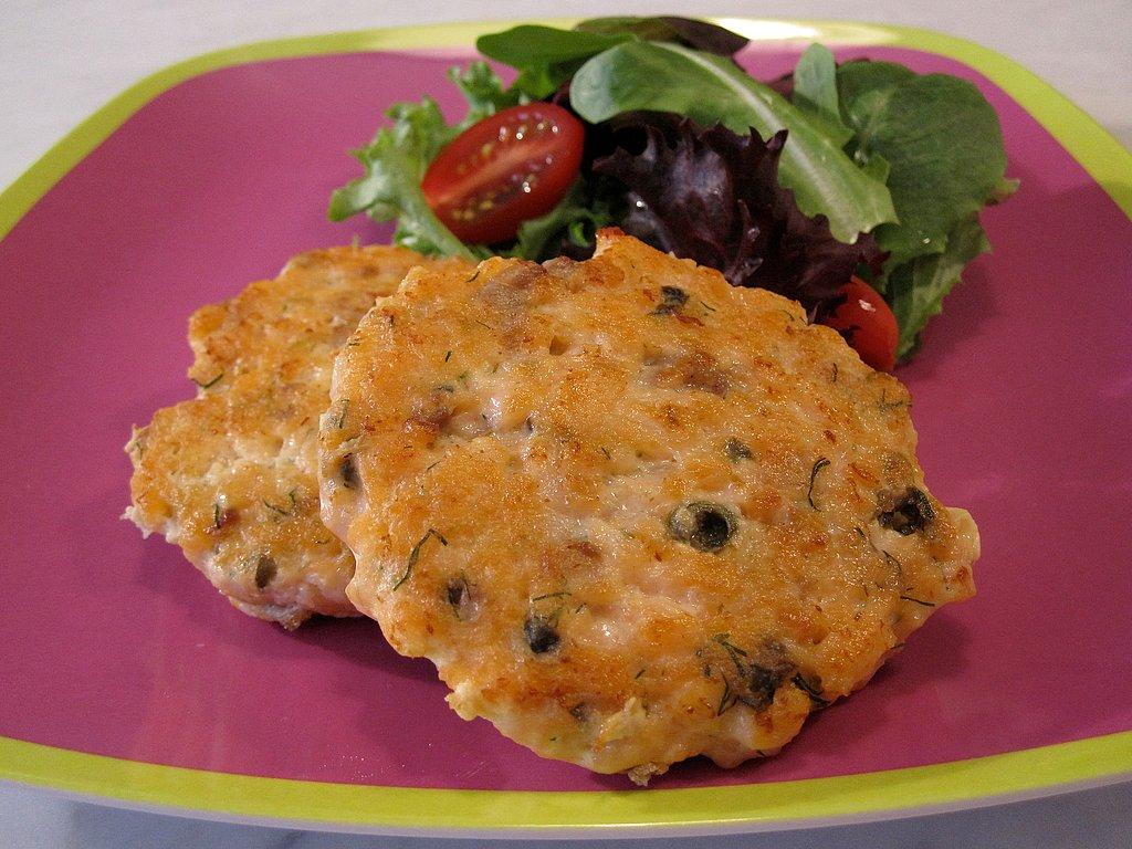 Catherine McCord's Weelicious Salmon Burgers