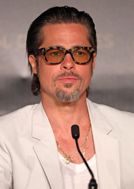 Brad Pitt Promotes The Tree of Life