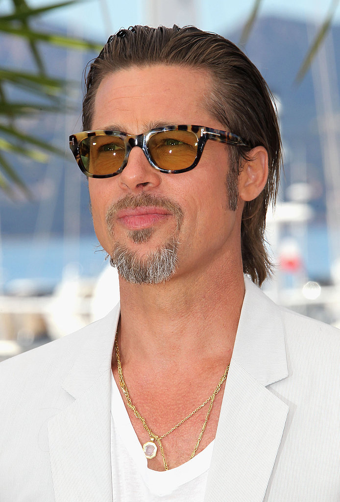 White-Hot Brad Pitt Debuts Tree of Life With Costar Jessica Chastain