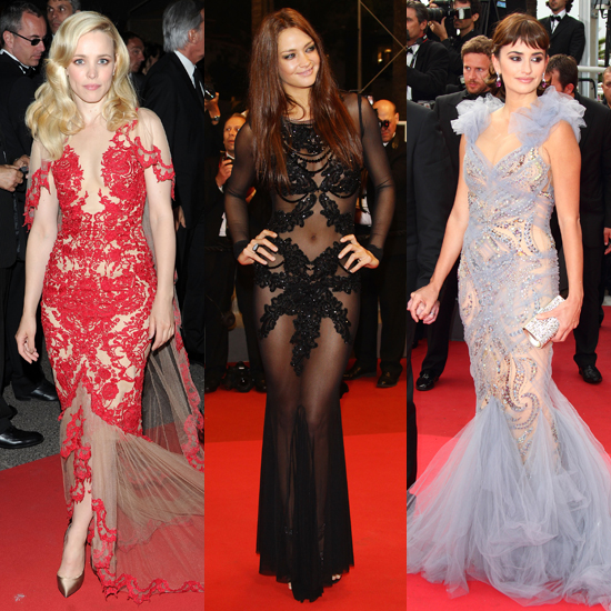 Celeb Dresses at Cannes Film Fest