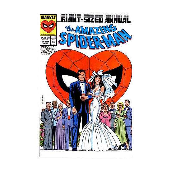 Peter Parker and Mary Jane — The Amazing Spider-Man
