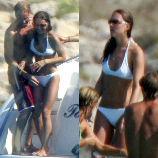 Kate Middleton Wears White Bikini on Vacation